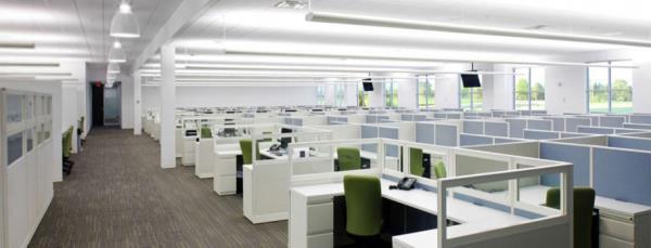 طراحی دکوراسیون محیطی مرکز تماس