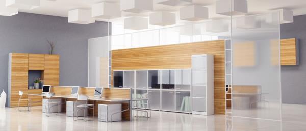مشاوره، طراحی و اجرای دکوراسیون اداری