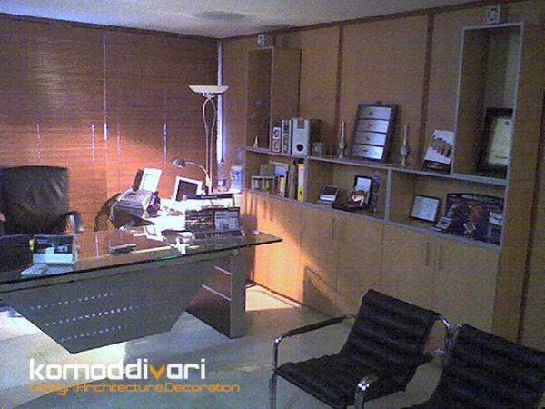 طراحی و اجرای دکوراسیون اداری