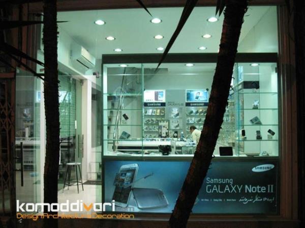 طراحی و اجرای دکوراسیون فروشگاهی